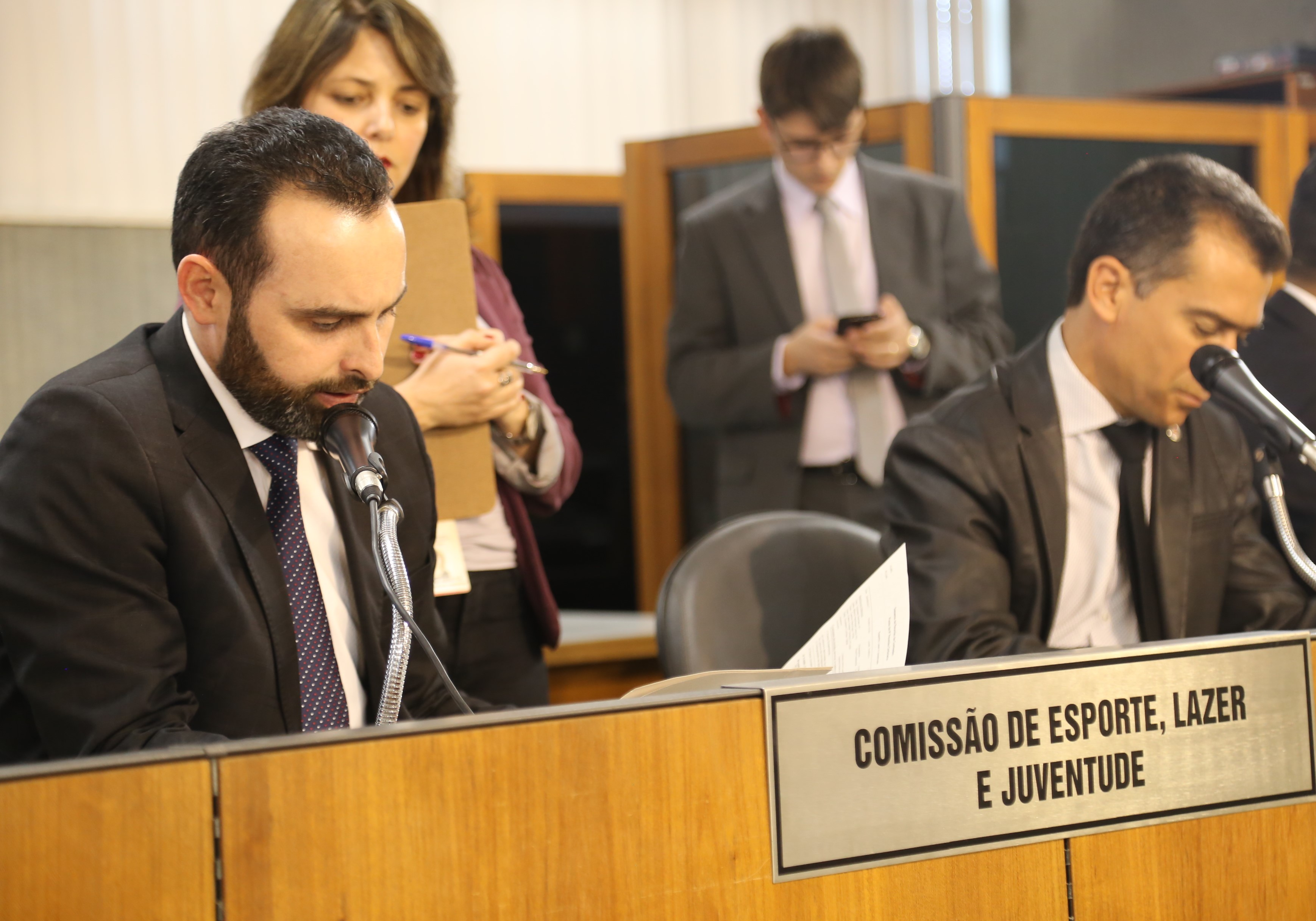 Ulysses debate Projetos de Lei em comissões na Assembleia