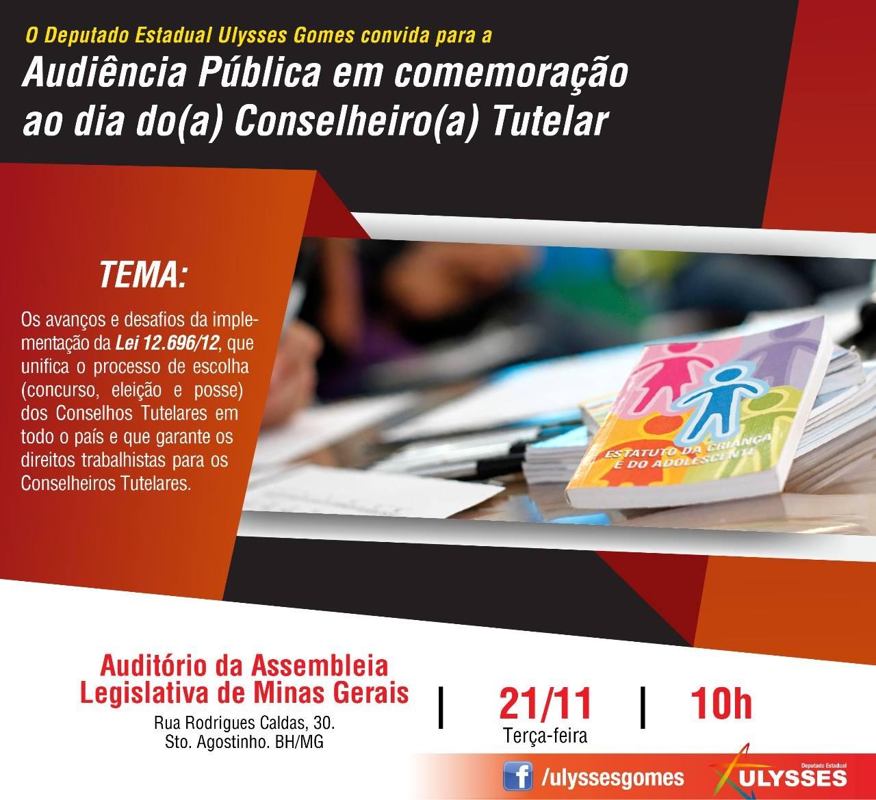 Audiência Pública – Dia do Conselheiro Tutelar