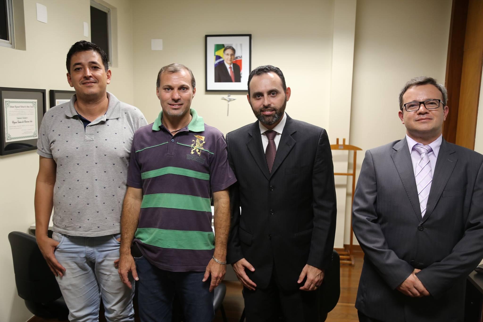 Deputado Ulysses se reúne com prefeitos, vereadores e lideranças