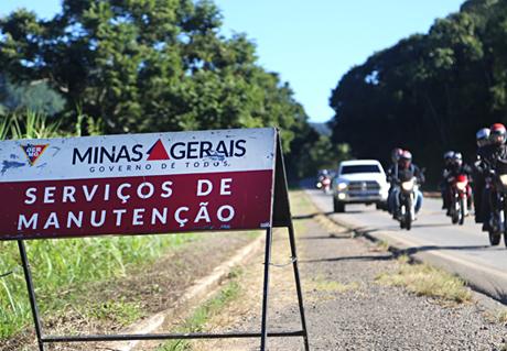 Obras de recuperação da MG-179 no trecho Machado e Pouso Alegre estão em fase final